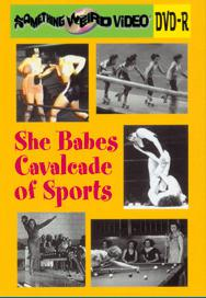 SHE BABES CAVALCADE OF SPORTS VOL 01- DVD-R
