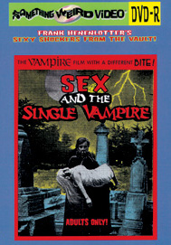 SEX AND THE SINGLE VAMPIRE - DVD-R