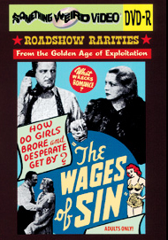 WAGES OF SIN - DVD-R