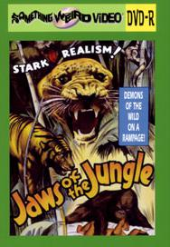 JAWS OF THE JUNGLE - DVD-R