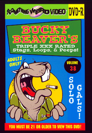 BUCKY BEAVER'S STAGS LOOPS AND PEEPS VOL 038 - Solo Girls - DVD-R