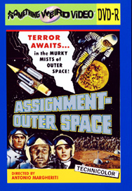 ASSIGNMENT OUTER SPACE - DVD-R
