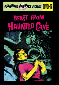 BEAST FROM THE HAUNTED CAVE - DVD-R