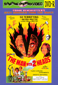 MAN WITH TWO HEADS - DVD-R