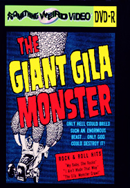 GIANT GILA MONSTER - DVD-R