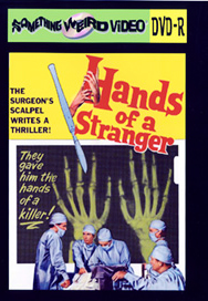 HANDS OF A STRANGER - DVD-R
