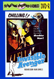INVISIBLE AVENGER - DVD-R