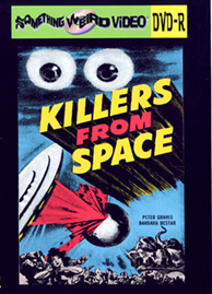 KILLERS FROM SPACE - DVD-R