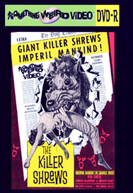 KILLER SHREWS - DVD-R