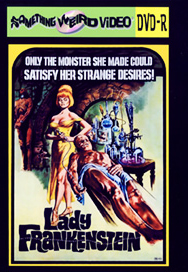 LADY FRANKENSTEIN - DVD-R