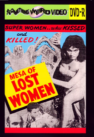 MESA OF LOST WOMEN - DVD-R