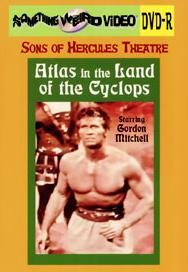 ATLAS IN THE LAND OF THE CYCLOPS - DVD-R