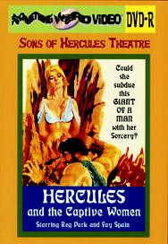 HERCULES AND THE CAPTIVE WOMEN - DVD-R