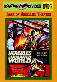HERCULES IN THE HAUNTED WORLD - DVD-R
