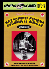 ROADSHOW SHORTS - VOL 03 - DVD-R