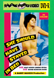 SHE SHOULD HAVE STAYED IN BED - DVD-R