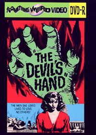 DEVIL'S HAND, THE - DVD-R