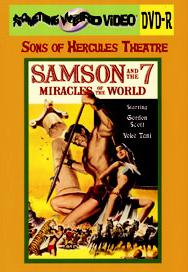 SAMSON AND THE 7 MIRACLES OF THE WORLD - DVD-R