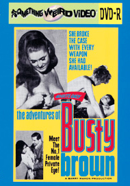 ADVENTURES OF BUSTY BROWN - DVD-R