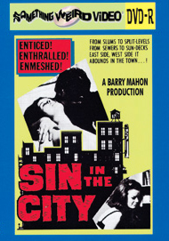 SIN IN THE CITY - DVD-R