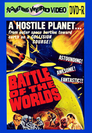 BATTLE OF THE WORLDS - DVD-R