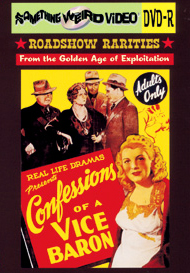 CONFESSIONS OF A VICE BARON - DVD-R