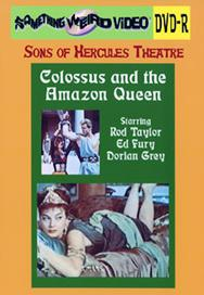 COLOSSUS AND THE AMAZON QUEEN - DVD-R