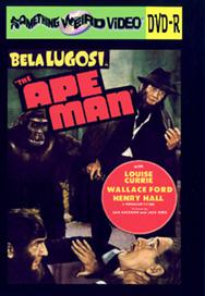 APE MAN, THE - DVD-R