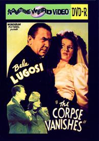 CORPSE VANISHES, THE - DVD-R