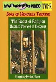 BEAST OF BABYLON AGAINST THE SON OF HERCULES - DVD-R