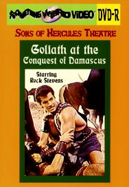 GOLIATH AT THE CONQUEST OF DAMASCUS - DVD-R