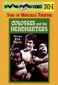 COLOSSUS AND THE HEADHUNTERS - DVD-R