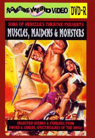 SONS OF HERCULES THEATRE PRESENTS: MUSCLES, MAIDENS & MONSTERS - DVD-R