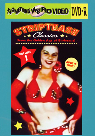 STRIPTEASE CLASSICS VOL 01 - DVD-R