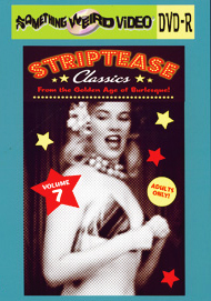STRIPTEASE CLASSICS VOL 07 - DVD-R