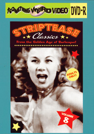 STRIPTEASE CLASSICS VOL 08 - DVD-R