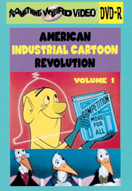 AMERICAN INDUSTRIAL CARTOON REVOLUTION VOL 01 - DVD-R