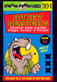 BUCKY BEAVER'S STAGS LOOPS AND PEEPS VOL 053 - DVD-R