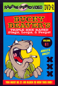 BUCKY BEAVER'S STAGS LOOPS AND PEEPS VOL 061 - DVD-R