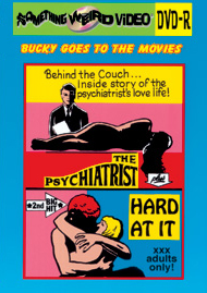 BUCKY BEAVER'S STAGS LOOPS AND PEEPS VOL 074: THE PSYCHIATRIST / HARD AT IT - DVD-R