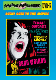 BUCKY BEAVER'S STAGS LOOPS AND PEEPS VOL 075: SEXO WEIRDO - DVD-R