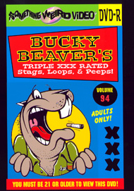 BUCKY BEAVER'S STAGS LOOPS AND PEEPS VOL 094 - DVD-R