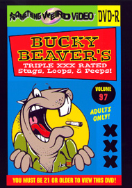 BUCKY BEAVER'S STAGS LOOPS AND PEEPS VOL 097 - DVD-R