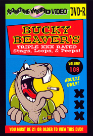 BUCKY BEAVER'S STAGS LOOPS AND PEEPS VOL 109 - DVD-R
