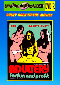 BUCKY BEAVER'S STAGS LOOPS AND PEEPS VOL 111: ADULTERY FOR FUN AND PROFIT - DVD-R