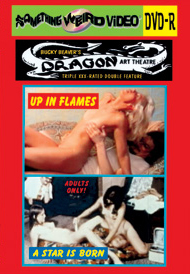 DRAGON ART THEATRE DOUBLE FEATURE VOL 009: UP IN FLAMES / A STAR IS BORN - DVD-R