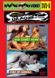 DRAGON ART THEATRE DOUBLE FEATURE VOL 010: KIM COMES HOME / SINS OF SANDRA - DVD-R