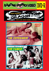 DRAGON ART THEATRE DOUBLE FEATURE VOL 012: THE EXPERIMENT / THE FAMILY - DVD-R