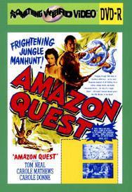 AMAZON QUEST - DVD-R