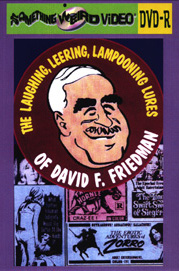 LAUGHING, LEERING, LAMPOONING LURES OF DAVE FRIEDMAN - DVD-R